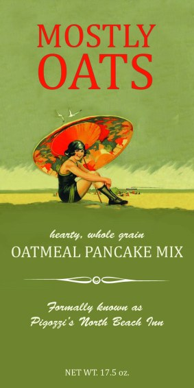Label Design for Mostly Oats