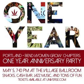 Women Grow flyer